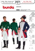 2471 Burda Pattern: Men's Napoleon Costumes